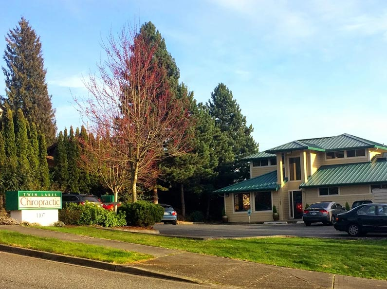 Welcome to Twin Lakes Chiropractic in Federal Way, WA.